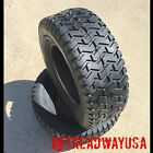 Two New 20x10.00-8 Deestone D265 Turf Riding Lawn Mower Garden Tractor Tires