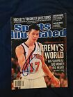 Jeremy Lin signed Sports Illustrated February 27, 2012 No Label Autograph SI