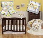 Child of Mine by Carter's Treetop Friends Baby Crib Bedding 4-Piece Set, Owls
