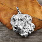 Sterling Silver GOLDEN RETRIEVER DOG Pendant or Charm