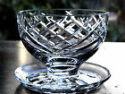 Waterford Crystal Signed Donegal Footed Dessert Bowl - Mint, Ireland
