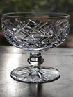 Waterford Crystal Signed Donegal Champagne / Short Sherbet Mint, Ireland