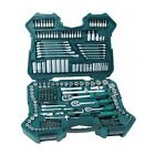 Socket Set Tool Case Screwdriver Mechanics Ratchet Wrench Craftsman Kit 215Pc