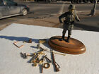 German ww1 resin toy soldier, 1918 with extra parts 110mm, Verlinden  LM