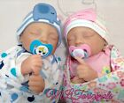 Reborn Baby Twins Cozy Kit Emily And Elliott