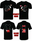 MICKEY AND MINNIE T SHIRTS VALENTINE MATCHING COUPLES CUTE LOVE SOUL MATE
