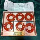 SIX VTG Sears Kenmore Sewing Machine Cams 2A, 3A, 4A, 5A, 6A, 7A 2-7B OTHER SIDE