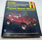 Haynes Suzuki Samurai Sidekick Geo Chevy tracker 1986 thru 2001 Repair Manual
