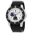 Victorinox Swiss Army White Dial Black Nylon Strap Men's Watch 2416801