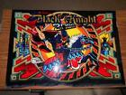 BLACK KNIGHT 2000 Pinball Translite - FREE SHIPPING TO THE LOWER 48 STATES!