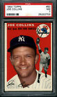 1954 TOPPS # 83 COLLINS Yankees PSA 7