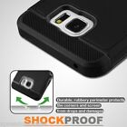 Samsung Galaxy Note 5 Shockproof Hybrid Hard Protective Case Cover Stand BLACK