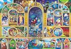 Disney All Character Dream / Stained Art Jigsaw Puzzle 500 Pieces