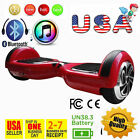 Bluetooth 2 Wheels Self Balancing Electric Scooter Hoverboard Unicycle blue1 MY