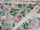Vintage WAVERLY Remember When Cabbage Rose Cotton Sateen Fabric