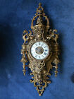 Antique French Vincenti  Cie Gothic Style Wall Clock