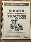 Operators Manual for Kubota M8540 Narrow Tractor & The Power Krawler Machine.