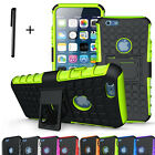 Heavy Duty Rugged Shockproof Case kickstand Cover For I Phone 4S/5S/6 6S/6+