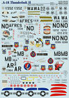 DECAL FOR A-10 THUNDERBOLT II PART 1 1/48 PRINT SCALE 48-072