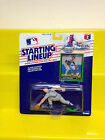 1989 Starting Lineup Scott Fletcher/Texas Rangers/Toledo/Wadsworth/SLU/Rookie