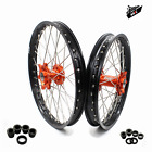 KKE 21/18 Enduro Wheels Rims Set Fit KTM EXCF EXCR EXC 125-530 250 350 2003-2019