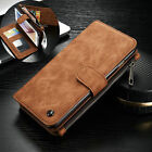 For Samsung Galaxy S7 Edge Leather Removable Wallet Flip Card Phone Case Cover