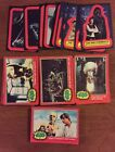 1977 TOPPS COMPLETE STAR WARS SERIES 2 SET RED BORDER - NRMT PLUS STICKERS