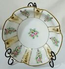 Antique Nippon Bowl Handpainted Floral Heavy Gold 10