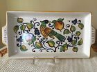 Ceramica Nova Deruta Hand Painted Handled Serving Tray Made in Italy