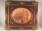 Vintage Victorian Ornate Wood Gesso Gilt Picture Art Frame 15X13 1900's picture