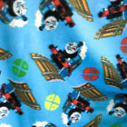 Thomas the Train Fleece Fabric 60 Inches Wide