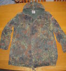 German Army Flecktarn Camo Camouflage BDU Parka Military Surplus MED LG XLG