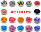Free Shipping 200pcs 3mm 8 0 Round Czech Glass Seed Spacer Beads Jewelry Making