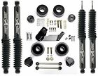 Rubicon Express 25 Lift Leveling Kit  Shocks For 2007 2018 Jeep Wrangler JK