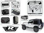 Rampage Complete Tinted Soft Top & Hardware Kit 1987-1995 Jeep Wrangler YJ 68035