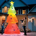 Giant 10 ft Color Changing Christmas Tree Light Show Airblown Inflatable Remote