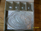 Vintage Homestead Snack Set, 4 Plates, 4 Cups, Great Box