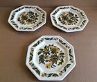 VINTAGE JOHNSON BROTHERS IRONSTONE HERITAGE OCTAGON BREAD & BUTTER DISH LOT 3