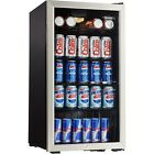 Mini Refrigerator Beverage Cooler Home Office Play Room Soda Beer Water 120 Can
