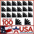 100 USA Mower Blades 10x2 Edger Blade Heat Treated fit Power Trim Mclane Lesco