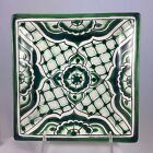 Mexican Talavera Square Desert/Salad Plate New And Never Used
