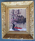 ORIGINAL MORRIS KATZ OIL ON BOARD SIGNED
