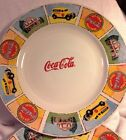 Gibson Coca-Cola Plates Set of 4 Brand New