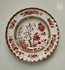 Rim Soup Bowl in Indian Tree Orange/Rust by Spode  Set of 3 Excellent Condition