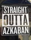 Straight Outta AZKABAN Compton Style Sticker Decal Harry Potter