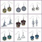 New Official Harry Potter Jewellery Silver Plated Charm Earrings