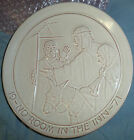 Frankoma Christmas Plate 1971 No Room In The Inn