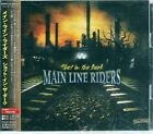 Main Line Riders Shot in The Dark +1 Japan CD w/obi POCE-16028