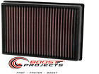 K&N Washable Lifetime Performance Air Filter for 13-16 Lincoln MKZ / 33-5000