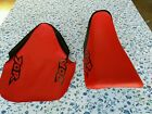 HONDA XR70R XR 70 R 1997 TO 2000 MODEL  Seat Cover RED (H23--n4)